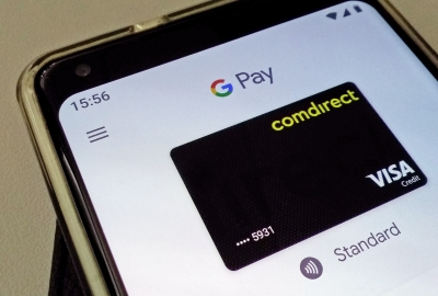 Screenshot Google Pay